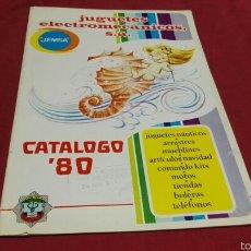 Juguetes antiguos: CATALOGO JUGUETES JEMSA 1980. Lote 57936227