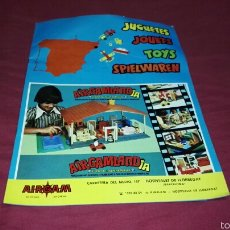 Juguetes antiguos: CATÁLOGO JUGUETES AIRGAM 1976 . Lote 57938266