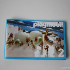 Juguetes antiguos: CATALOGO PLAYMOBIL Nº2 AÑO 1986.. Lote 132494183