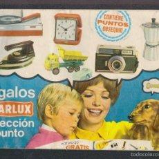 Juguetes antiguos: CATALOGO DE REGALOS DE STARLUX.CON FOTOS DE JUGUETES.AÑO 1970.. Lote 57996636