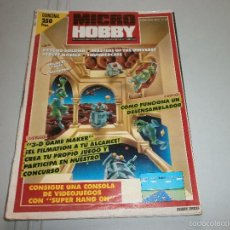 Juguetes antiguos: REVISTA MICRO HOBBY Nº165. Lote 58113373