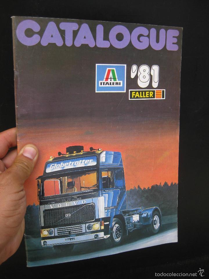 CATALOGUE MAQUETAS FALLER ITALERI 1981 51 PAGINAS (Juguetes - Catálogos y Revistas de Juguetes)