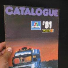 Juguetes antiguos: CATALOGUE MAQUETAS FALLER ITALERI 1981 51 PAGINAS. Lote 58227598