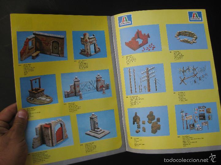 Juguetes antiguos: CATALOGUE MAQUETAS FALLER ITALERI 1981 51 PAGINAS - Foto 2 - 58227598