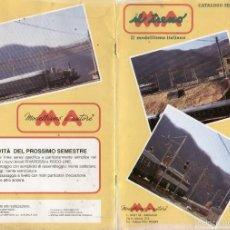 Juguetes antiguos: CATÀLOGO MA IL TRENO IL MODELLISMO ITALIANO 1993 - EN ITALIANO. Lote 58386712