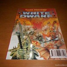 Juguetes antiguos: REVISTA WHITE DWARF Nº 2 WARHAMMER GAMES WORKSHOP CITADEL RARA. Lote 58415528