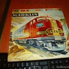 Juguetes antiguos: CATALOGO DE TRENES MARKLIN, AÑO DE 1961-62 CON TEXTO EN ESPAÑOL. Lote 58434261