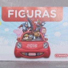 Juguetes antiguos: CATALOGO ORIGINAL - OFICIAL DE COMANSI AÑO 2016 PARA COLECCIONISTAS. Lote 95827132