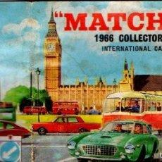 Juguetes antiguos: CATÁLOGO MATCHBOX 1966 - 40 PÁGINAS. Lote 60724003