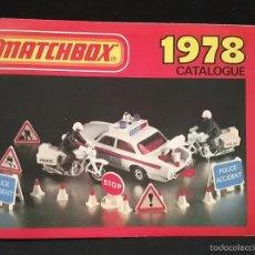 Juguetes antiguos: CATÁLOGO MATCHBOX 1978. Lote 59074545