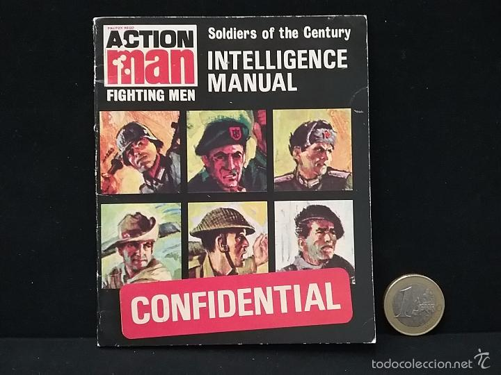 PALITOY ACTION MAN Fighting Men INTELLIGENCE MANUAL Soldiers Of The Century