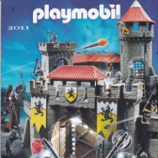 Juguetes antiguos: CATALOGO PLAYMOBIL 2011 (CASTELLANO Y PORTUGUES). Lote 60009075