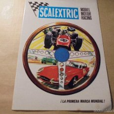 Juguetes antiguos: SCALEXTRIC MODEL MOTOR RACING - VI- 69 4 PAG. ILUSTRADO 22X15,5 CM. . Lote 60280731