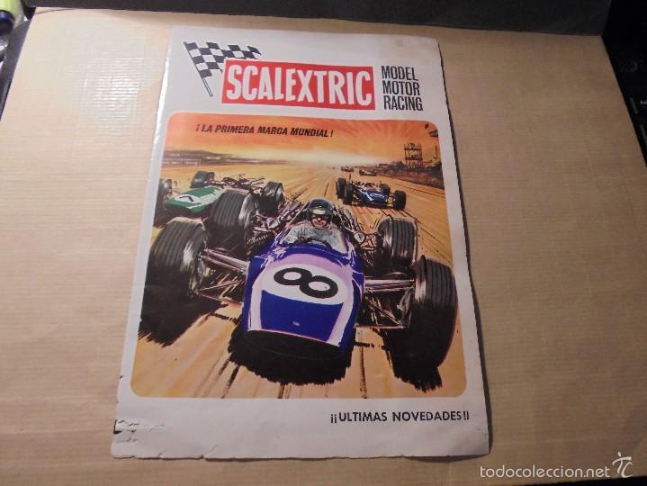 SCALEXTRIC MODEL MOTOR RACING - VI- 70 - 4 PAG. ILUSTRADO 22X15,5 CM. (Juguetes - Catálogos y Revistas de Juguetes)