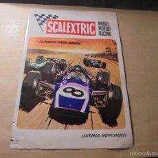 Juguetes antiguos: SCALEXTRIC MODEL MOTOR RACING - VI- 70 - 4 PAG. ILUSTRADO 22X15,5 CM. . Lote 60280887