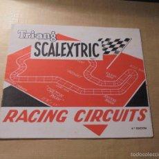 Juguetes antiguos: TRI-ANG SACALEXTRIC DESPLEGABLE RACING CIRCUITS 4ª EDC. ( VII 67 ) . Lote 60281703