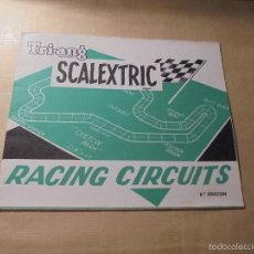 Juguetes antiguos: TRI-ANG SACALEXTRIC DESPLEGABLE RACING CIRCUITS 6ª EDC. ( VIII 69 ) . Lote 60281903