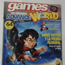 Juguetes antiguos: REVISTA GAME WORLD ADVANCE Nº14 - GAME BOY ADVENCE, VIDEOJUEGOS. Lote 60549107