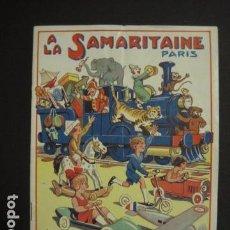 Juguetes antiguos: CATALOGO JUGUETES - LA SAMARITAINE - PARIS - AÑO 1934 - VER FOTOS ADICIONALES - ( V- 6606). Lote 61913004