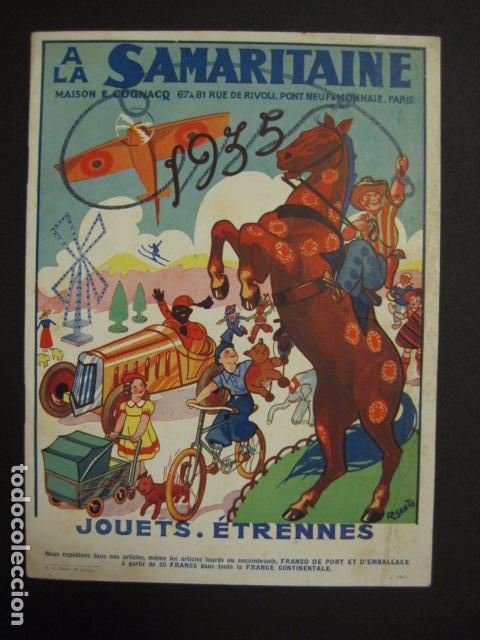 CATALOGO JUGUETES - LA SAMARITAINE - PARIS - AÑO 1935 - VER FOTOS ADICIONALES - ( V- 6607) (Juguetes - Catálogos y Revistas de Juguetes)