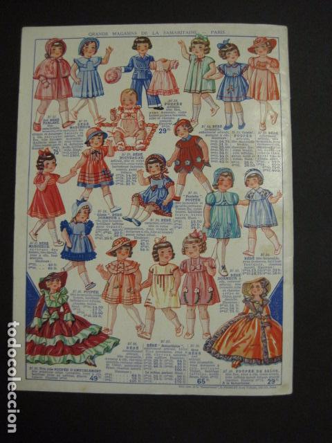 Juguetes antiguos: CATALOGO JUGUETES - LA SAMARITAINE - PARIS - AÑO 1935 - VER fotos adicionales - ( V- 6607) - Foto 24 - 61913144
