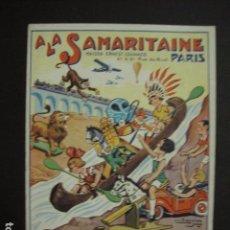 Juguetes antiguos: CATALOGO JUGUETES - LA SAMARITAINE - PARIS - AÑO 1936 - VER FOTOS ADICIONALES - ( V- 6608). Lote 61913296