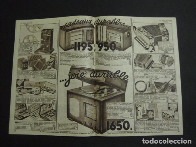 Juguetes antiguos: CATALOGO JUGUETES - AU BON MARCHE - AÑO 1939 - VER fotos adicionales - ( V- 6609) - Foto 13 - 61913548