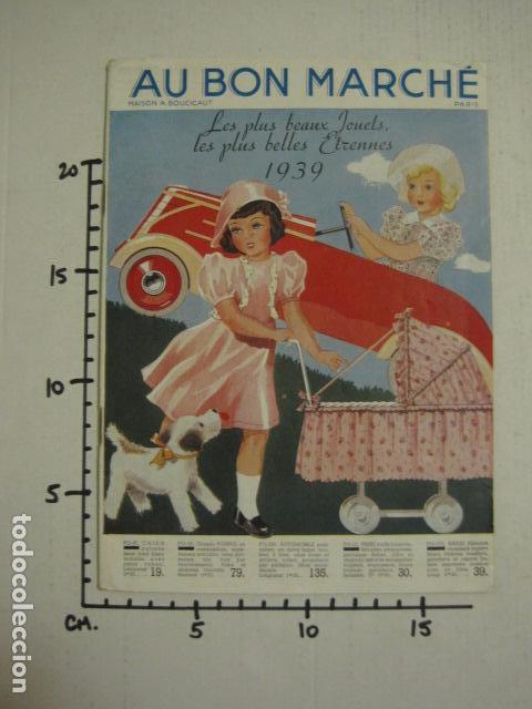 Juguetes antiguos: CATALOGO JUGUETES - AU BON MARCHE - AÑO 1939 - VER fotos adicionales - ( V- 6609) - Foto 26 - 61913548