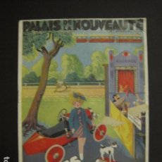 Juguetes antiguos: CATALOGO JUGUETES - PALAIS DE LA NOUVEAUTE - AÑO 1932 - VER FOTOS ADICIONALES - ( V- 6611). Lote 61913896