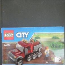Juguetes antiguos: FOLLETO INSTRUCCIONES LEGO. Lote 62157450