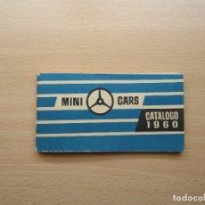Juguetes antiguos: MINI-CARS ANGUPLAS COLECCION DE COCHES DEL CATALOGO DE 1960. Lote 63322680