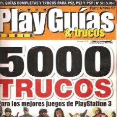 Juguetes antiguos: PLAYGUIAS TRUCOS NUMERO 59 - 5000 TRUCOS PARA JUEGOS PLAYSTATION 3. Lote 63507476