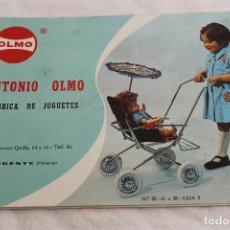 Juguetes antiguos: CATALOGO JUGUETES ANTONIO OLMO, MOGENTE VALENCIA AÑOS 70. Lote 64511083