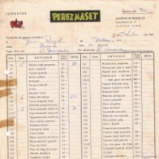 Juguetes antiguos: PEREZ MASET - JUGUETES PIT - 1967. Lote 64611207