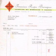 Juguetes antiguos: ROQUE - FRANCISCO ROQUE BERENGUER - MUÑECAS Y BABYS - 1967. Lote 64611703