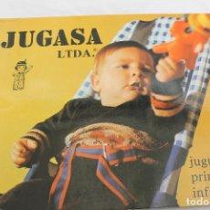 Juguetes antiguos: CATALOGO JUGUETES PRIMERA INFANCIA JUGASA, 1977 ONIL ALICANTE. Lote 64732219