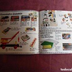 Juguetes antiguos: CATÁLOGO DE JUEGOS LEGO, DE 1971. ALEMÁN. Lote 64839455