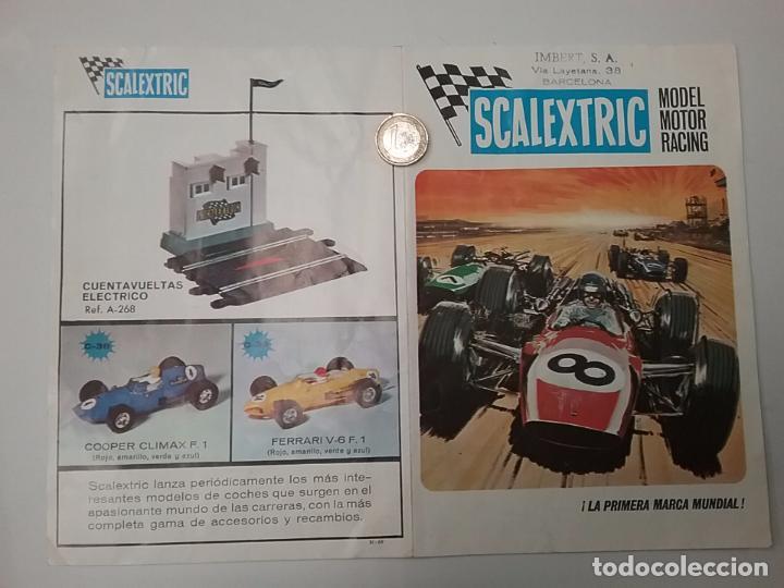 SCALEXTRIC CATÁLOGO - MODEL MOTOR RACING 1969 - SELLO IMBERT (Juguetes - Catálogos y Revistas de Juguetes)