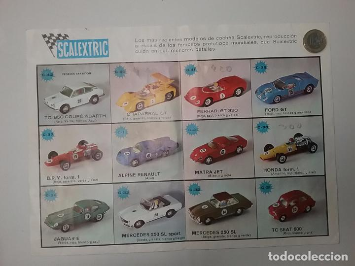 Juguetes antiguos: SCALEXTRIC CATÁLOGO - MODEL MOTOR RACING 1969 - SELLO IMBERT - Foto 2 - 65331639