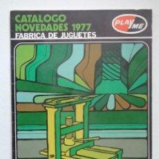 Juguetes antiguos: CATALOGO NOVEDADES PLAYME 1977. Lote 66168002