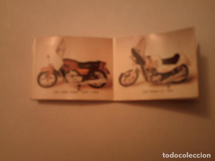 Juguetes antiguos: Guiloy catalogo despegable motos escala 1:24 - Foto 2 - 67202573