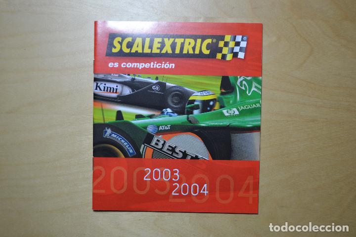 CATALOGO 2003-2004 SCALEXTRIC (Juguetes - Catálogos y Revistas de Juguetes)