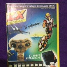 Juguetes antiguos: REVISTA ZX - AÑO 1 - NÚMERO 1 - NUEVA - SINCLAIR SPECTRUM - ZX SPECTRUM - STORE - ENVÍO GRATIS. Lote 68129305