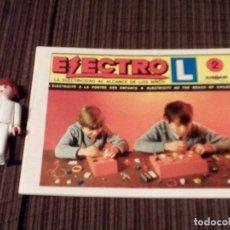 Juguetes antiguos: CATALOGO ORIGINAL DEL JUEGO ELECTRO L DE AIRGAM, Nº2.MADE IN SPAIN.. Lote 68470725