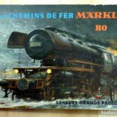 Juguetes antiguos: MARKLIN ; COLLECTIF LES CHEMINS DE FER MÄRKLIN HO ET LEURS GRANDS PROTOTYPES. MANUEL POUR LES AMIS D. Lote 68856321