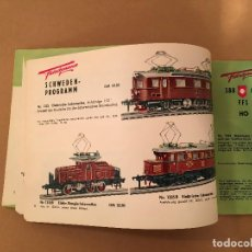 Juguetes antiguos: TRENES - FLEISHMANN - 1958/59 - CATALOGO JUGUETES - TREN. Lote 68994153