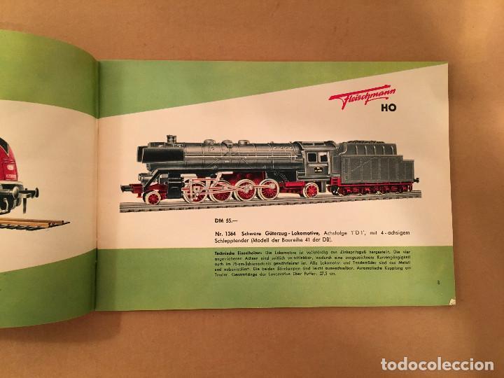 Juguetes antiguos: TRENES - FLEISHMANN - 1958/59 - CATALOGO JUGUETES - TREN - Foto 4 - 68994153