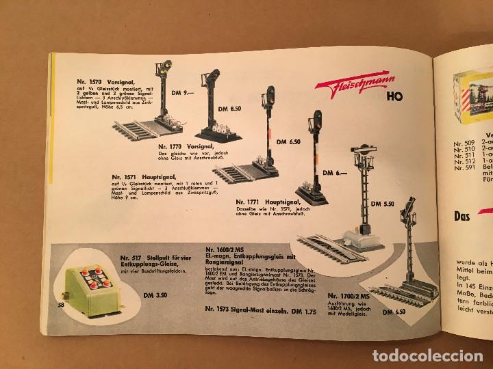 Juguetes antiguos: TRENES - FLEISHMANN - 1958/59 - CATALOGO JUGUETES - TREN - Foto 10 - 68994153