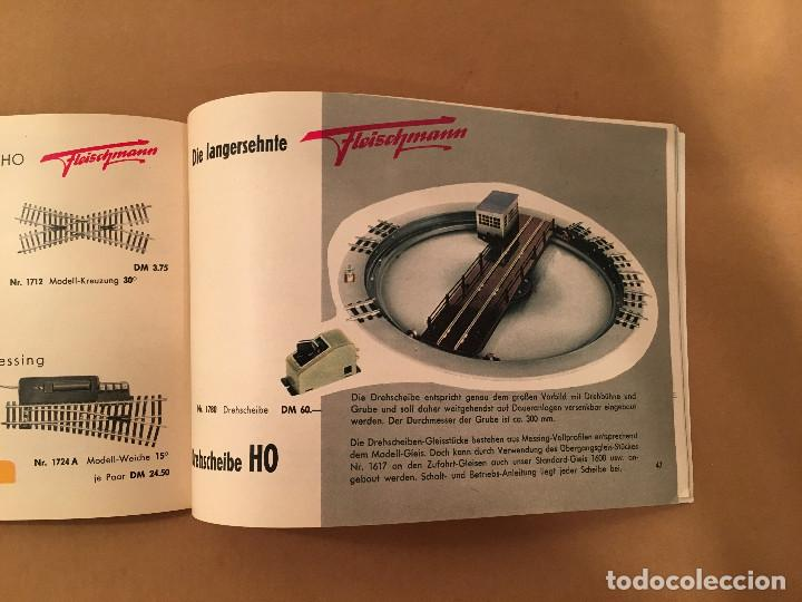 Juguetes antiguos: TRENES - FLEISHMANN - 1958/59 - CATALOGO JUGUETES - TREN - Foto 11 - 68994153