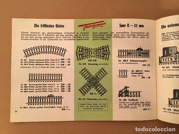 Juguetes antiguos: TRENES - FLEISHMANN - 1958/59 - CATALOGO JUGUETES - TREN - Foto 12 - 68994153
